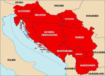 Jugoslaviens Sammenbrud 1991 1999