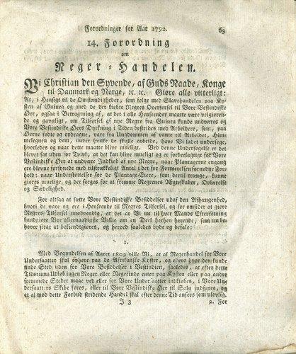 første land som forbød slaver