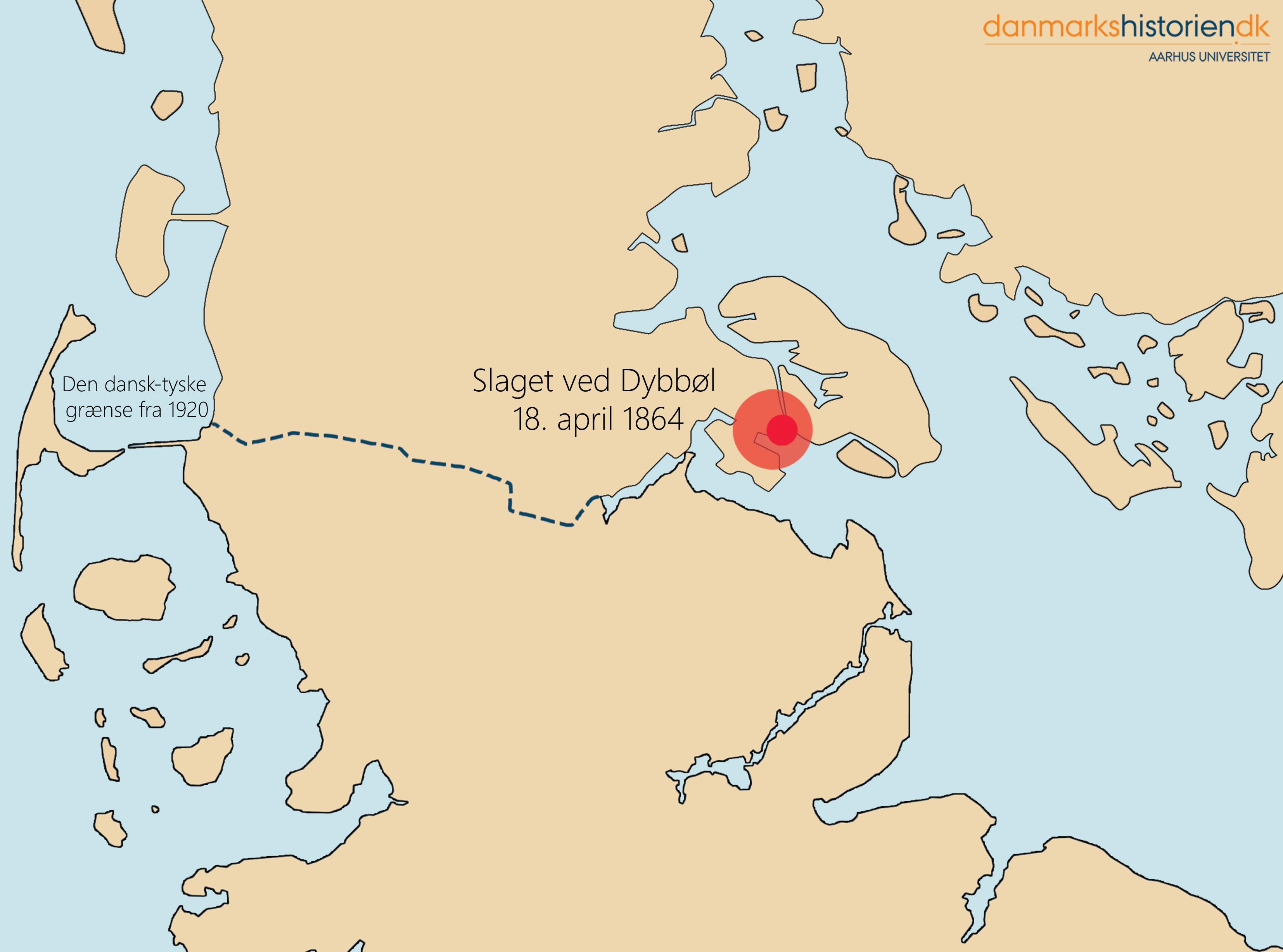 Slaget Ved Dybbol 18 April 1864