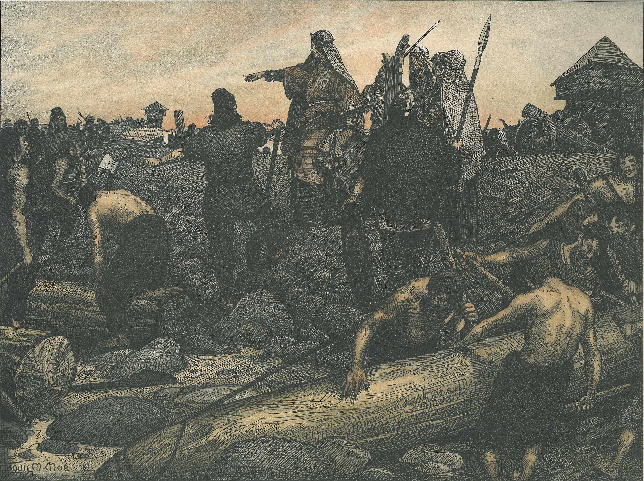 billede af danmark