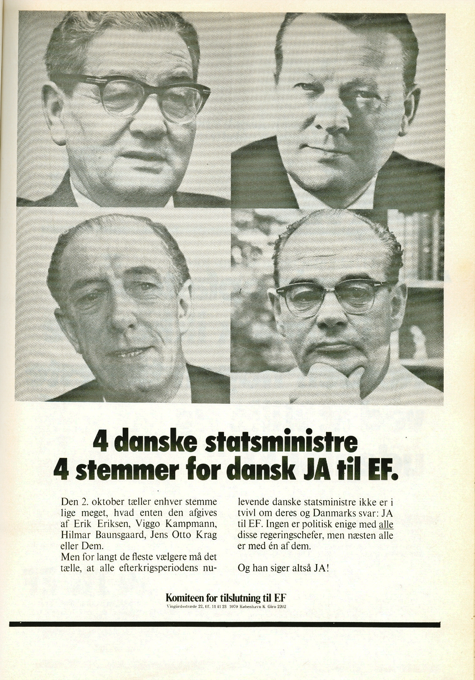 Danmarks medlemskab af EF og EU, efter 1972