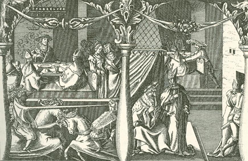 det stockholmske blodbad drawing